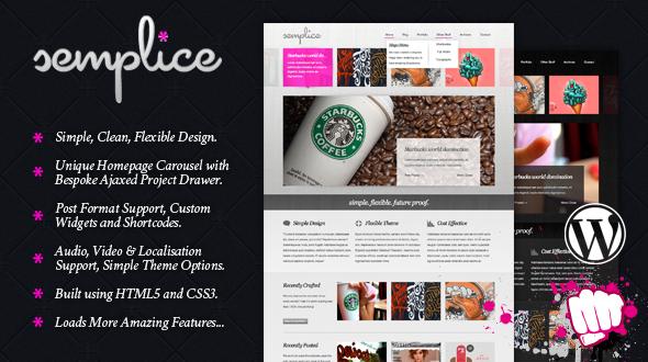 Download Semplice Mojo–Themes Simple, Clean & Professional WordPress